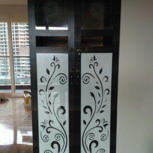Floral Door Design