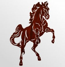 Horse vector file wall art