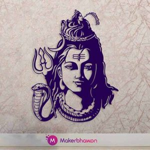 Shiva Vector wall art
