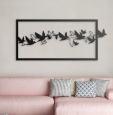 Flying birds wall art