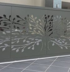 Trees for life Metal gate design