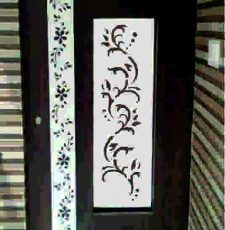 Long frame door design