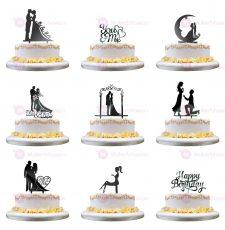 10 cake toper design