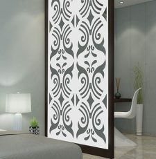 Arabic floating partition design