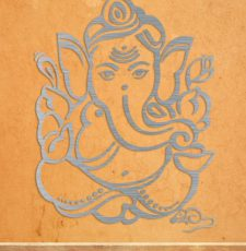 Ganpati Metal wall art design