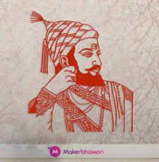 Shivaji vector design