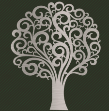 Curl tree design