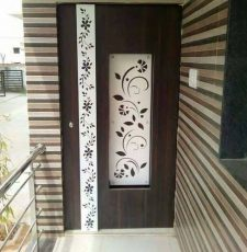 Long flower frame design