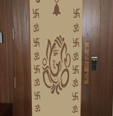 Ganpati Temple Door design