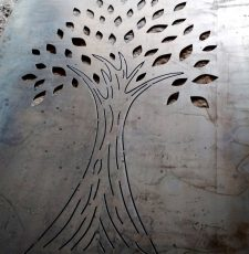 plama cut tree design
