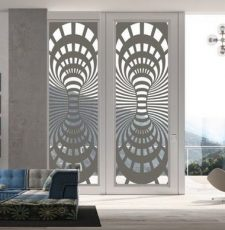 Half sparkal design