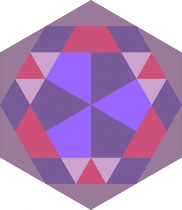 hexagon dxf