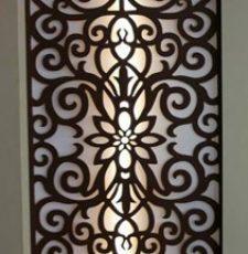 Floral jali design