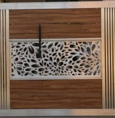 Different leaf door design