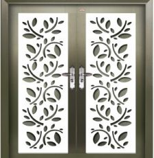Leaf plate door design