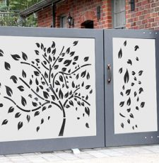 2 leaf gate design