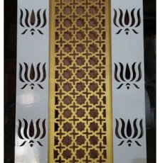Lotus Main gate grill design