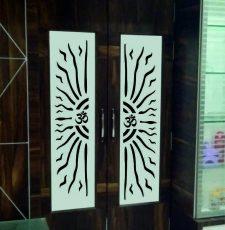 Half sun om door design