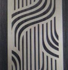 Silver curve plate design