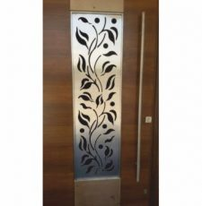 Silver Grill door design