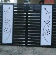 Simple flower gate design