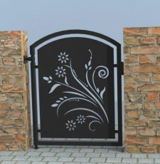 Floral single gate