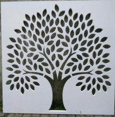 Simple tree wall art