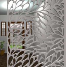 lily leaf partition design
