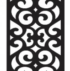 curl jali design