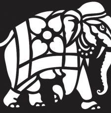 Elephant laser cut plasma