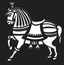horse laser cut design