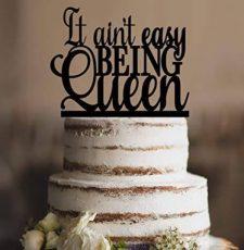 Queen Cake topper