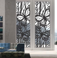 Butterfly Room Divider Panel, Screen, Partitions, Wall Hanging, Laser, CNC, Plaxma, Cricut Cutting dxf file