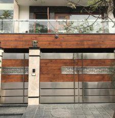 Gate Curly Design cnc