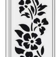flowers wales laser cut design, door gate design