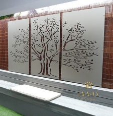 tree wall art design