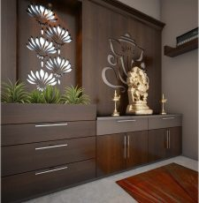 Temple partition design