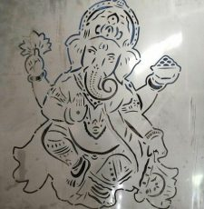 Ganesha Wall art gate design