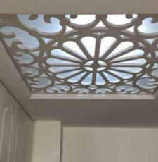 Ceiling flower board