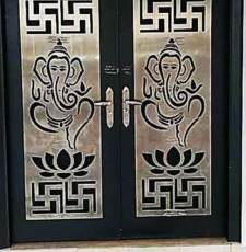 ganpati security door design