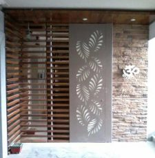 cnc leaf outdoor design