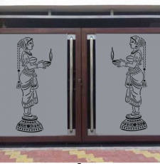cnc welcome statue design
