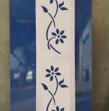 cnc flower curl plant -2 design