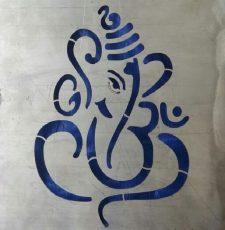 CNC OM ganpati design