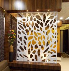 Corien Partition indoor leaves DXF Design file