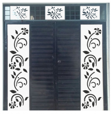CNC Flower plant gate design