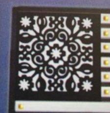 curl rangoli box dxf design