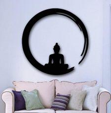 CNC Budhha wall art
