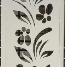 flower family grill design