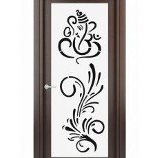 Ganesha curl design